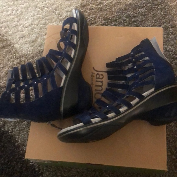 Jambu Shoes - Jambu blue sandals